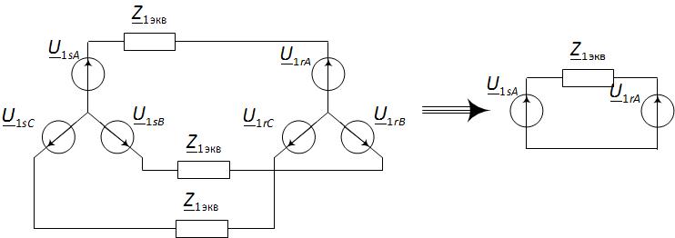 Упрощение расчёта сложной электрической цепи