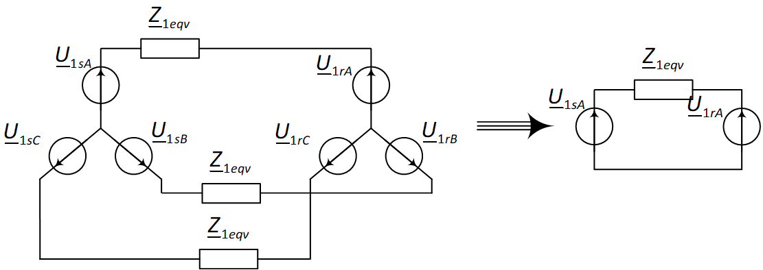 Simplification of the calculation of complex electrical circuits