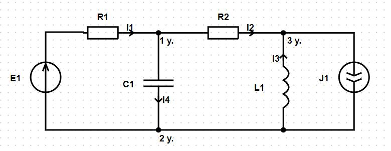 Расчёт электрической цепи онлайн. Решение задач по ТОЭ