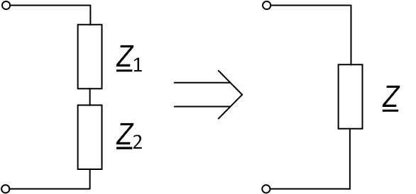 Последовательное соединение пассивных элементов
