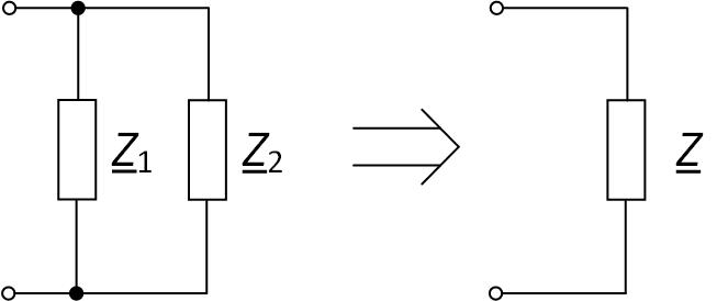 Параллельное соединение пассивных элементов